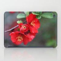 Chaenomeles  - JUSTART �… iPad Case