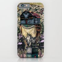 iPhone & iPod Case featuring The Barn Owl Fortune Teller by Mat Miller