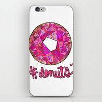 #donuts iPhone & iPod Skin