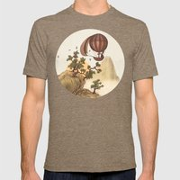 The Journey  Mens Fitted Tee Tri-Coffee SMALL