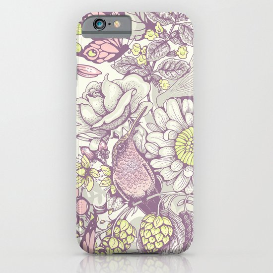 Beauty (eye of the beholder) - pale version iPhone & iPod Case