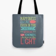 Tote Bag featuring Happiness by Dorothy Timmer