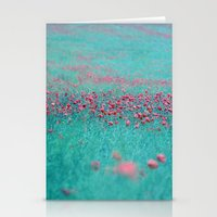 summer thoughts Stationery Cards