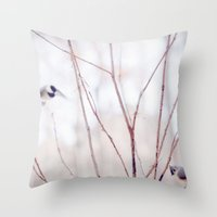 Let's Be Friends Throw Pillow