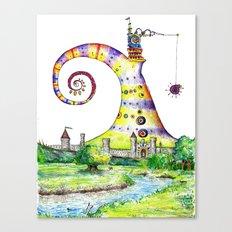 Castle Bazzlenoor Canvas Print