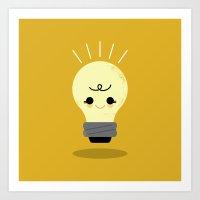 Lil' Light Bulb  Art Print