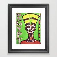 Egyptian Queen Framed Art Print
