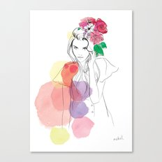 Flower Crowns Canvas Print