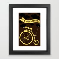 The Avett Brothers  Framed Art Print