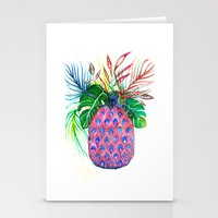 Pina Pineapple Ananas Stationery Cards