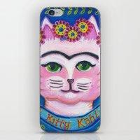 el Kitty Kahlo iPhone & iPod Skin