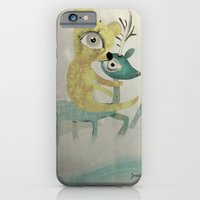 iPhone & iPod Case featuring Vintage Whimsical Christmas by Ruth Fitta Schulz