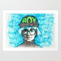 BOY - Andy Warhol Cultur… Art Print