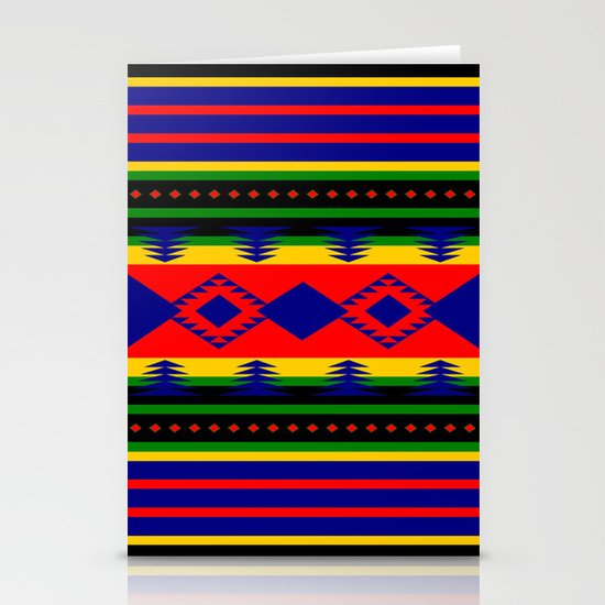 Aztec Summer Stationery Card