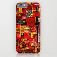 iPhone & iPod Case featuring Ketchup and Mustard by czavelle