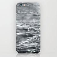 iPhone & iPod Case featuring Fire Grass in Black and White by Katie Kirkland Photography