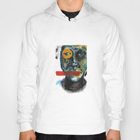 Geometry Face Hoody