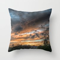 Vista (the Sky Is Source… Throw Pillow