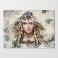 Epic Princess Zelda From… Canvas Print