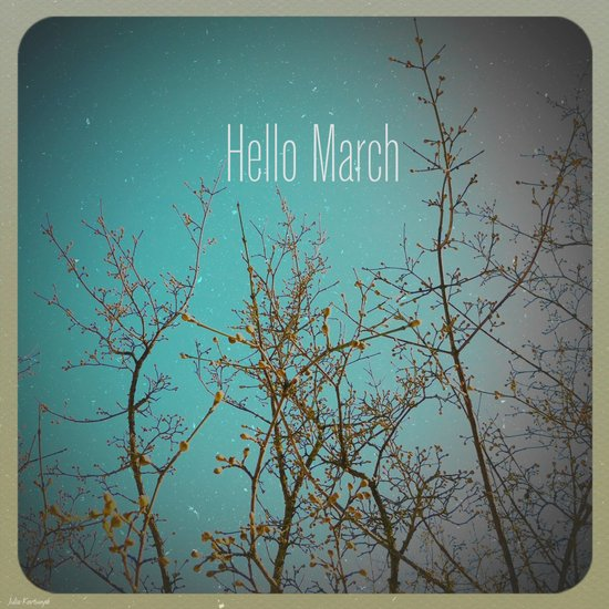 Hello March Art Print