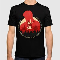 Bioshock Infinite Mens Fitted Tee Black SMALL