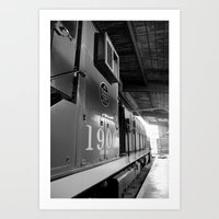Engine 1900 Art Print