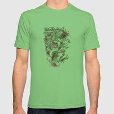 Egon Bondy's Happy Hearts Club Banned Mens Fitted Tee Grass SMALL