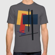 Tribute to K. Malevich (n.1) Mens Fitted Tee Asphalt SMALL