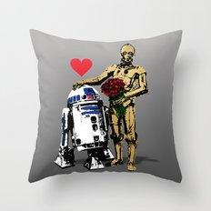 Secret Lovers Throw Pillow