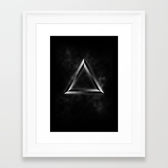 Specters of the Future Framed Art Print