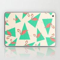 Crazy Flamingos Laptop & iPad Skin