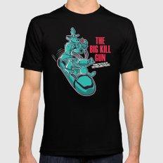 The Big Kill Gun SMALL Mens Fitted Tee Black