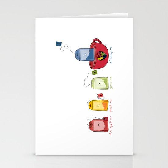 tea Stationery Card