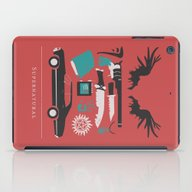 iPad Case featuring Supernatural by Abbie Imagine