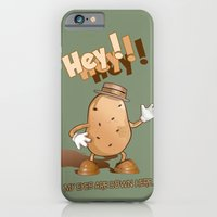 iPhone & iPod Case featuring Spud by Dolphin and Cow