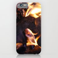 iPhone & iPod Case featuring Ablaze by Samantha MacDonald