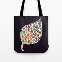 Leafy Palette Tote Bag