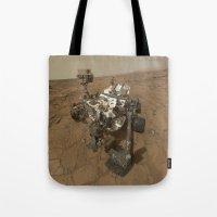 NASA Curiosity Rover's S… Tote Bag