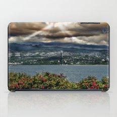Bridge Near Vancouver iPad Case