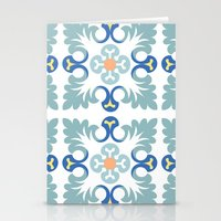 Floor Tile 5 Stationery Cards