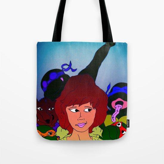 TMNT ~ Family Values Tote Bag