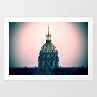 PARIS monument Art Print