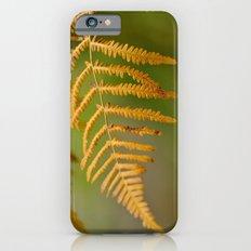 Yellow fern Slim Case iPhone 6s