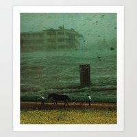 The Rainy Season Art Print
