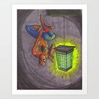 Zap Art Print