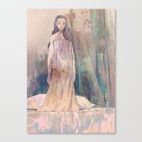 Negligee Canvas Print