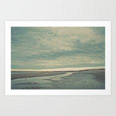 Nautica: Running the Kite Art Print