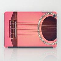Pink Guitar iPad Case