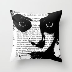 Without a Question Throw Pillow