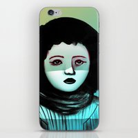 Miss F.  iPhone & iPod Skin